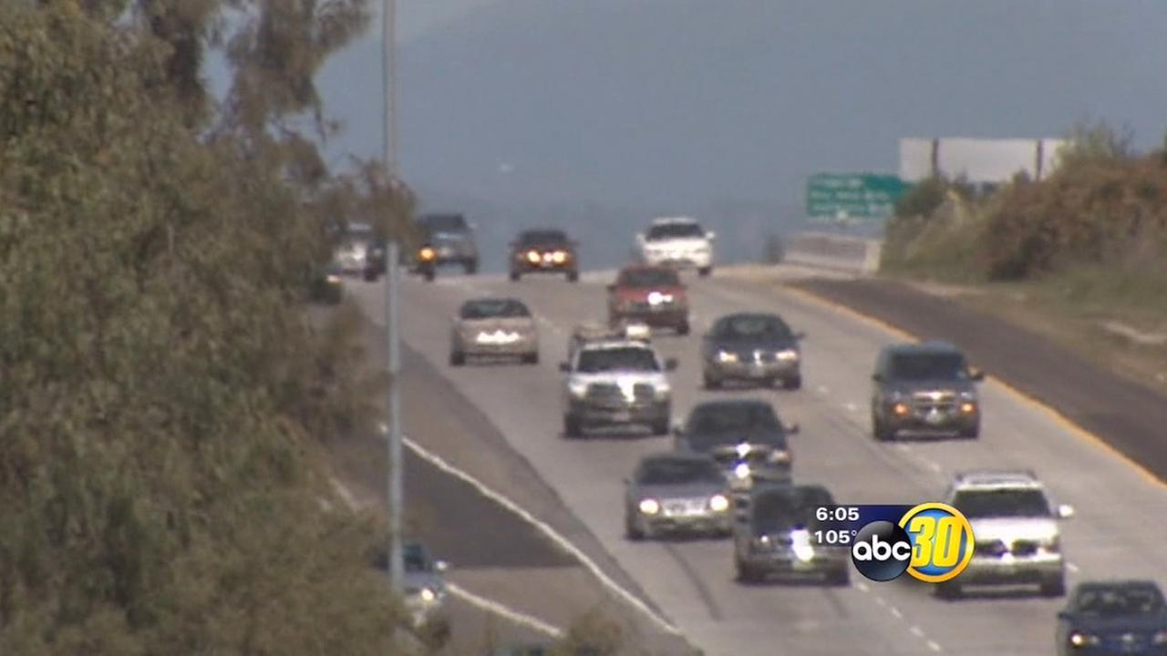 Report: Fresno drivers spent 23 hours stuck in traffic in 2014