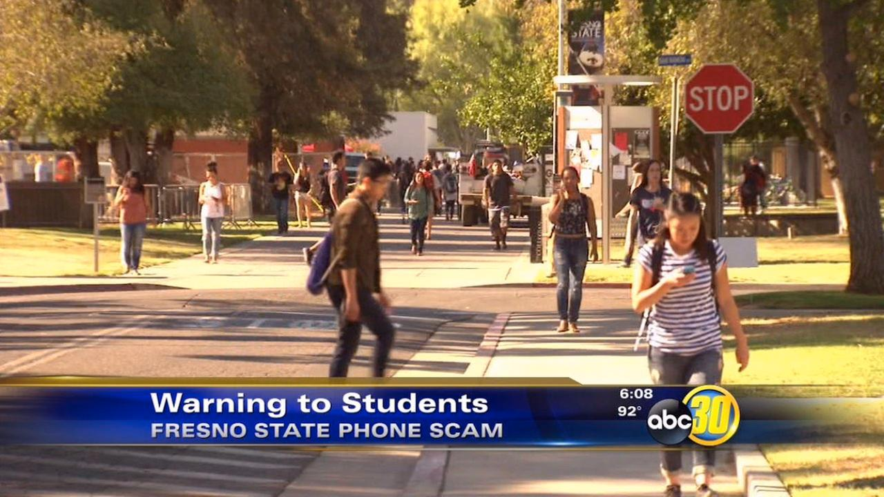 Fresno State students warned of tuition scam