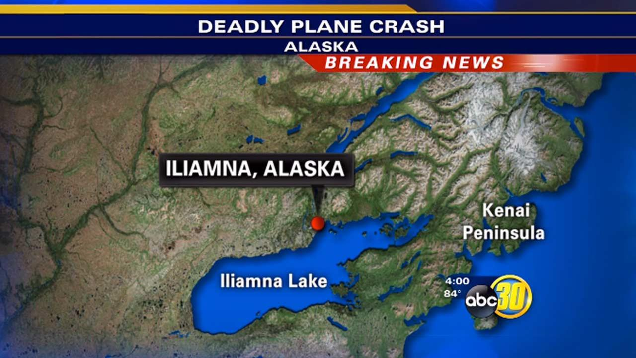 Alaska plane crash victims are from Clovis, California, Shavertown, Pennsylvania