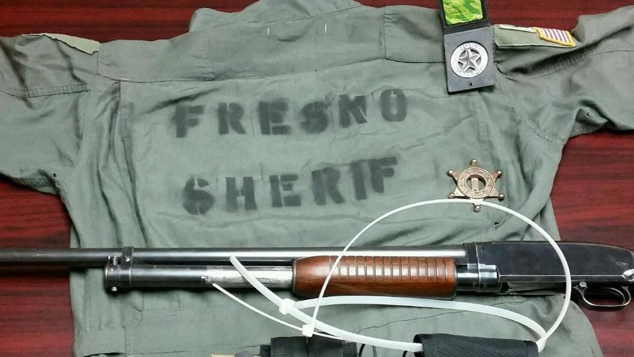 Fresno home invasion and sheriff impersonators arrested with misspelled sheriff uniform, deputies say