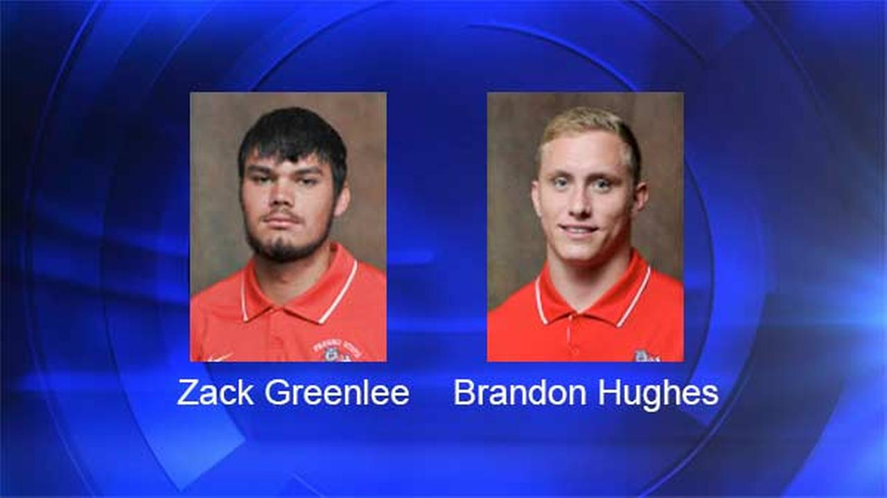 Bulldogs QB Zack Greenlee and linebacker Brandon Hughes arrested