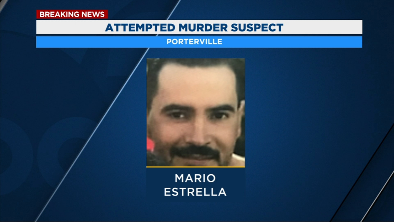 Officers say 27-year-old Mario Estrella of Porterville got into an argument with a victim Sunday morning.