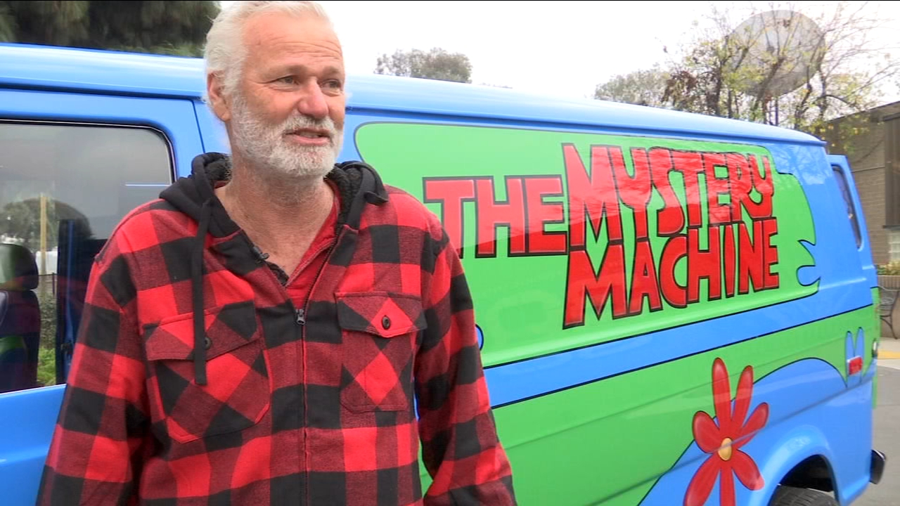 We solved the case of the colorful Mystery Machine that keeps showing up around Fresno.