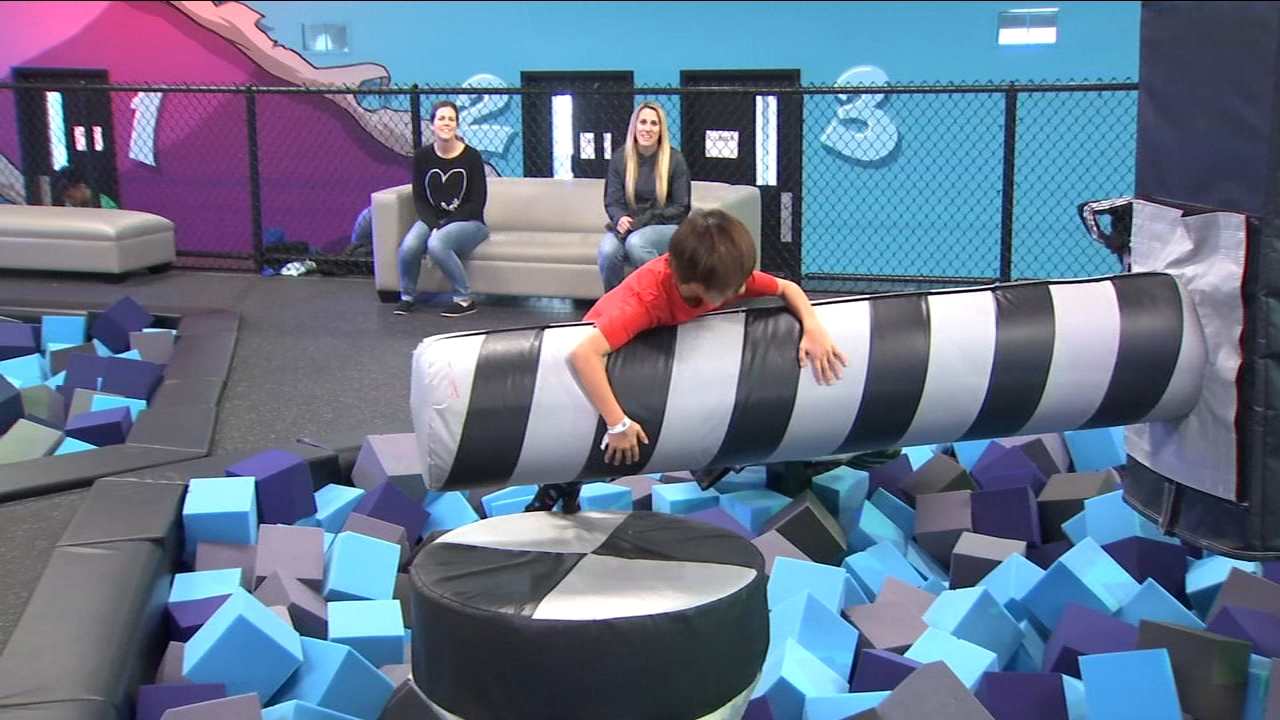 If youre looking for something fun and physical for your kids to do during winter break a new trampoline park just opened in Clovis.