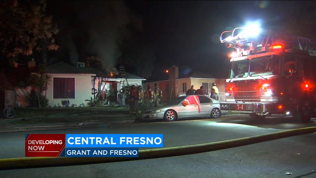 Fresno Fire is trying to determine what caused an early morning house fire in Central Fresno.