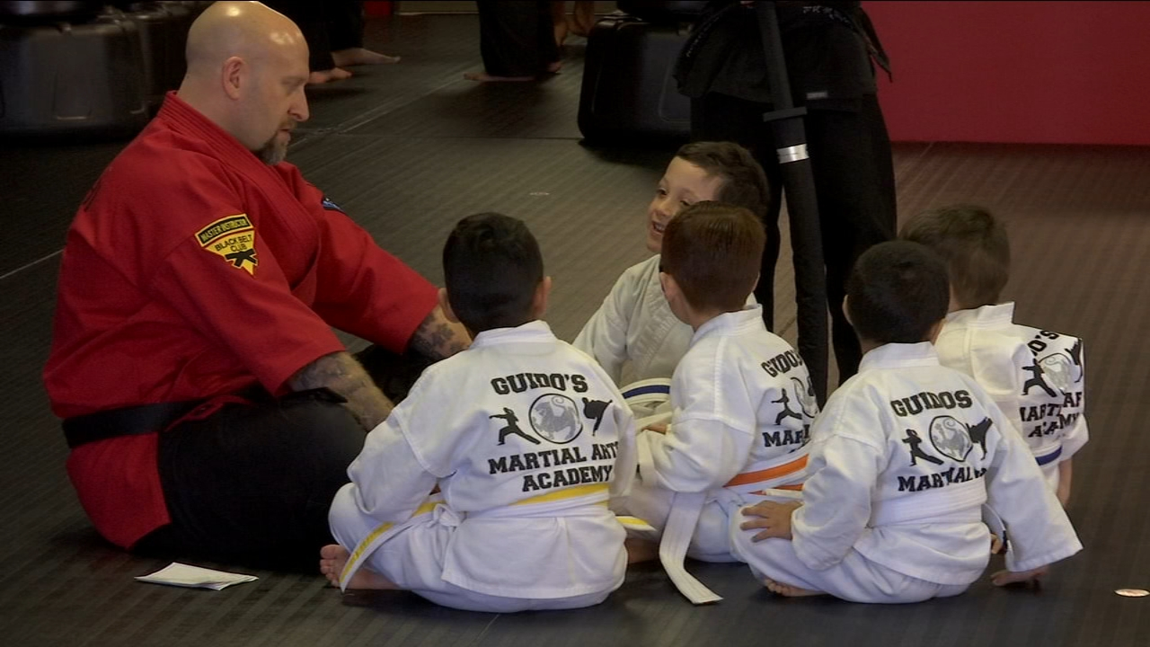 A local martial arts studio is teaching children more than just the sport - its teaching them morals and values.