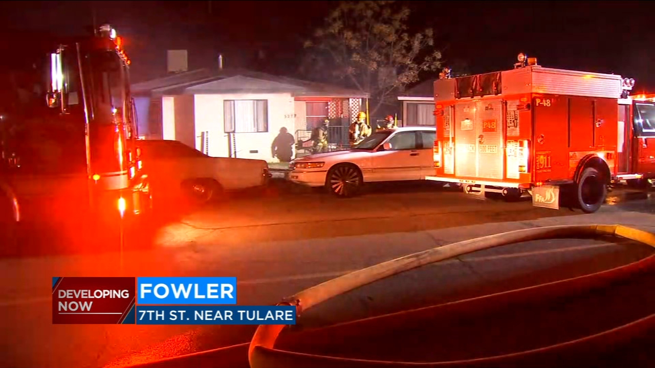 Fire officials believe bad electrical wiring may be to blame after an attic caught fire in Fowler, displacing the two people living there.