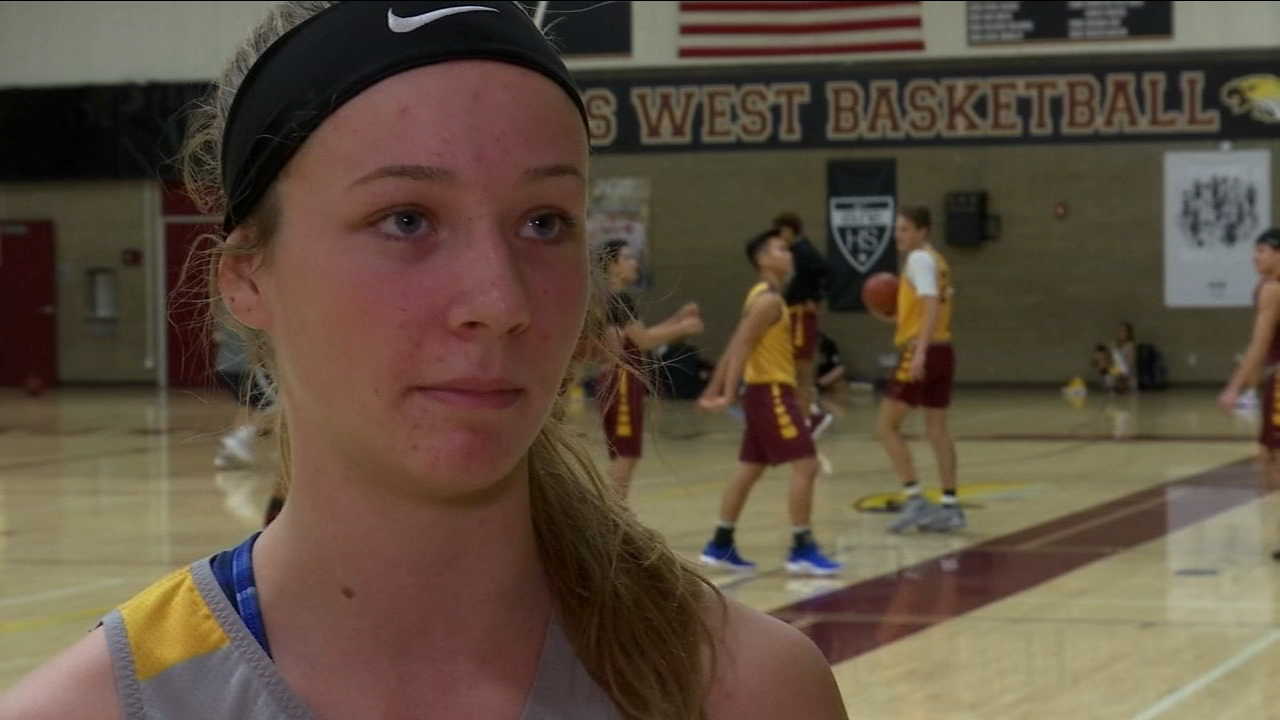 Clovis Wests senior guard, Madison Campbell, has played countless minutes of crunch time, but this season - for the first time in a while - shes playing stress-free.