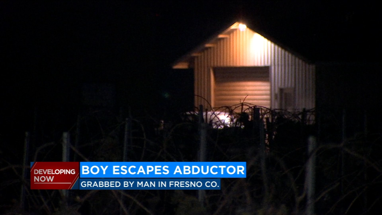 An eight-year-old is home safe tonight, after he was kidnapped right outside of his home in Fresno County.