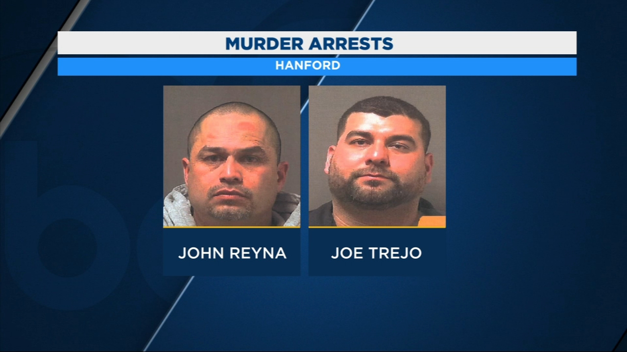 Hanford Police recover body from 4-foot grave; two arrested in connection