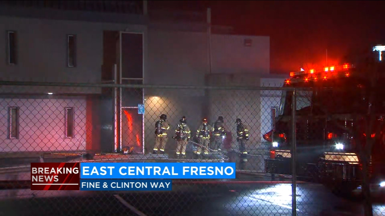 Fresno Fire is investigating an early morning fire that severely damaged an East Central Fresno church.