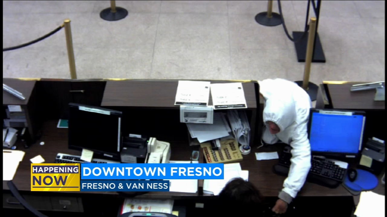 The Bank of the West on Fresno Street and Van Ness Avenue was robbed.