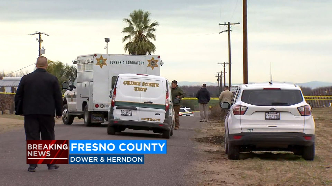 The Fresno County Sheriffs Office is investigating a homicide just Northwest of Fresno