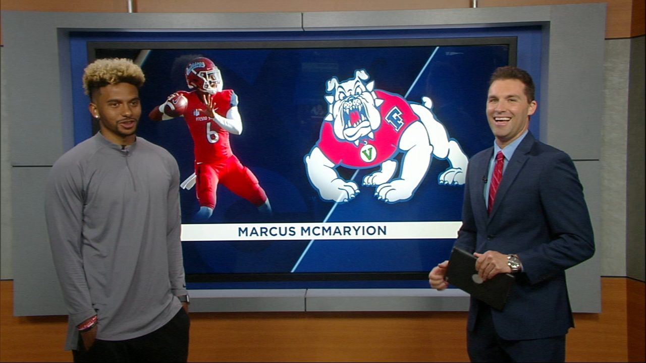 Fresno State senior quarterback Marcus McMaryion joins Chris Alvarez to recap the 2018 season and discuss his preparations for the upcoming NFL Draft.