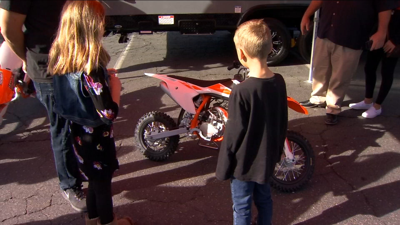 Local businesses pull together to replace bikes stolen from Kingsburg kids on Christmas Day