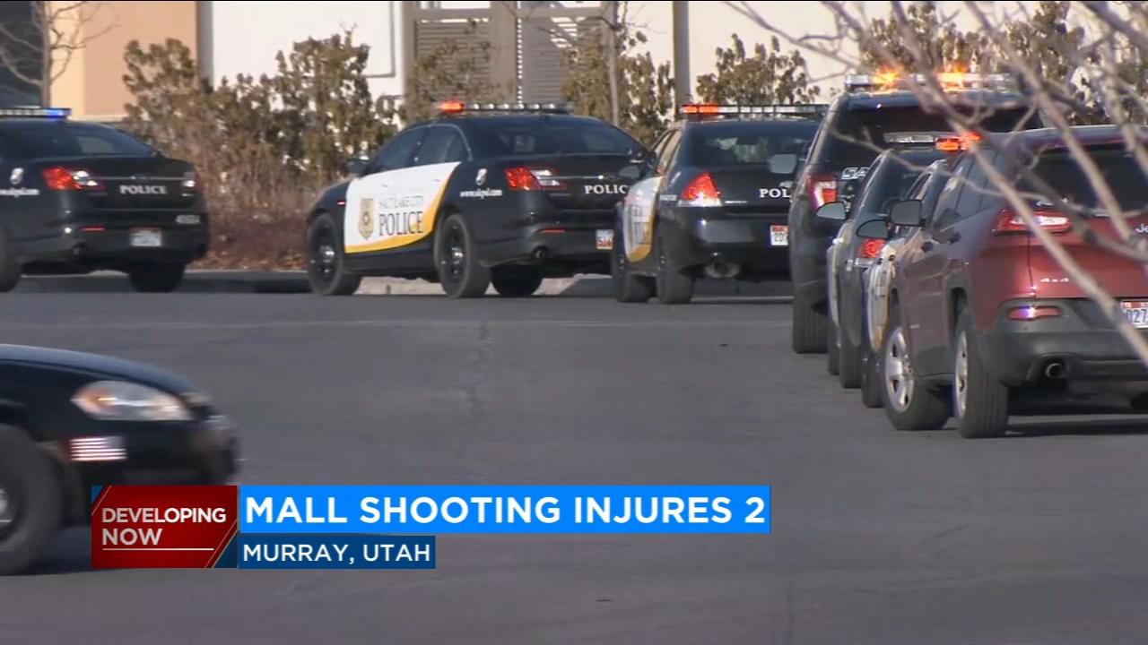 2 shot outside mall in Salt Lake City suburb