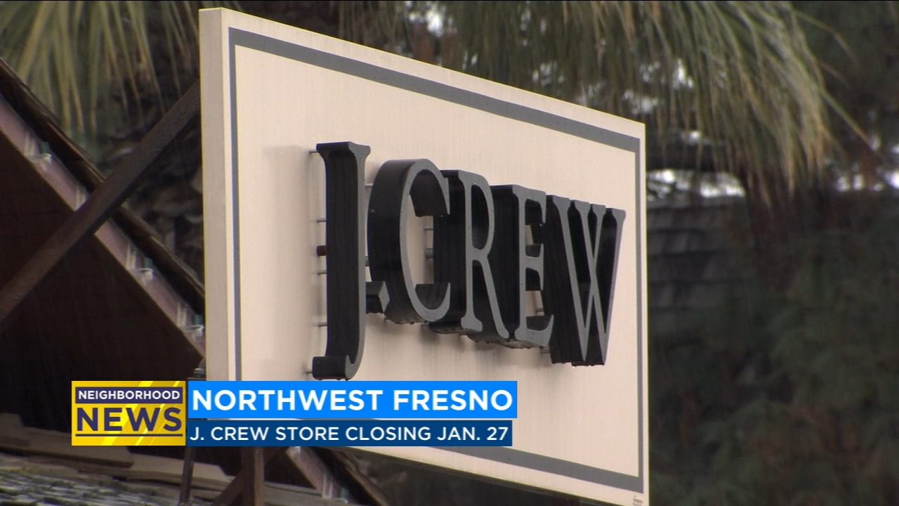 J. Crew in Fig Garden Village will close this month