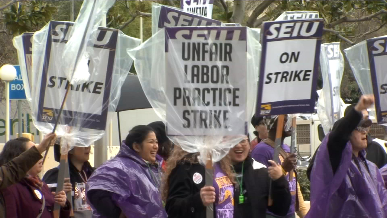 Strike slows courthouse operations; workers to picket until agreement is reached