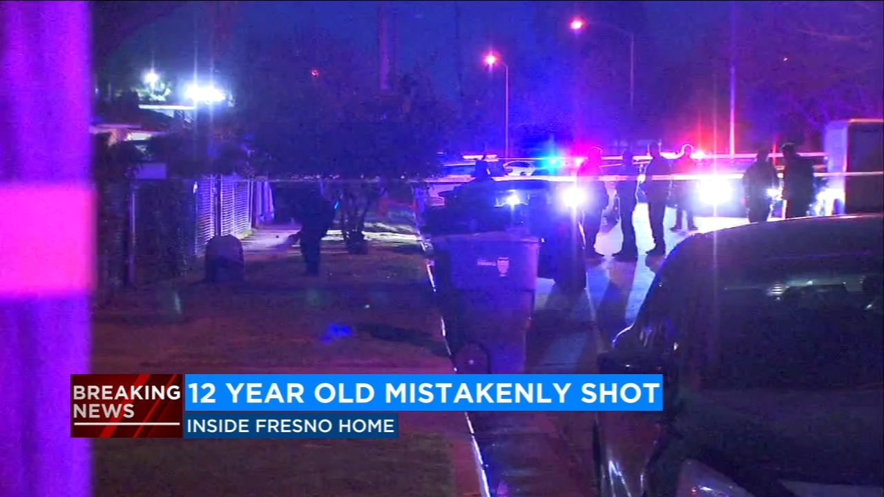 12-year-old girl shot while inside home in Southeast Fresno
