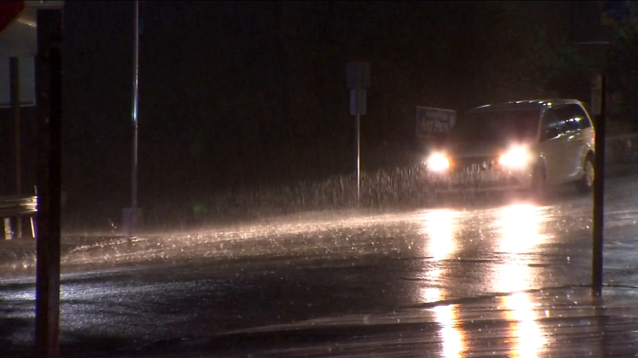 First major storm of year hits the Foothills, Mariposa County