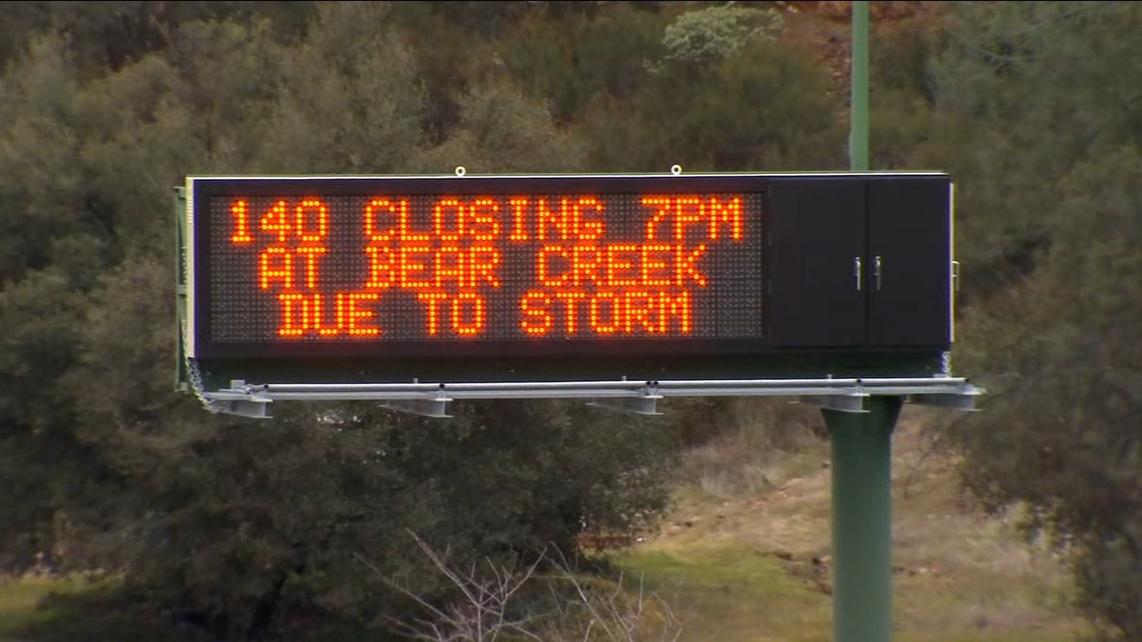 Highway 140 will close ahead of storm; crews prepare for flooding, mudslides