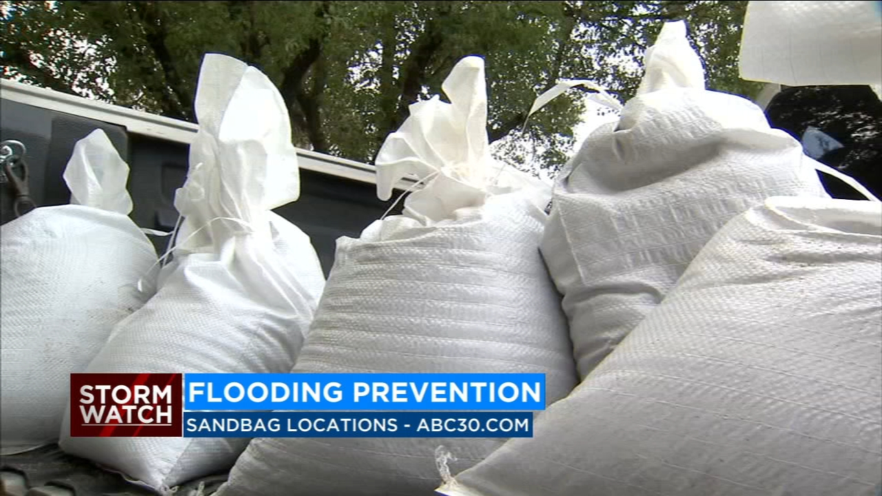 List of sandbag locations in the Central Valley