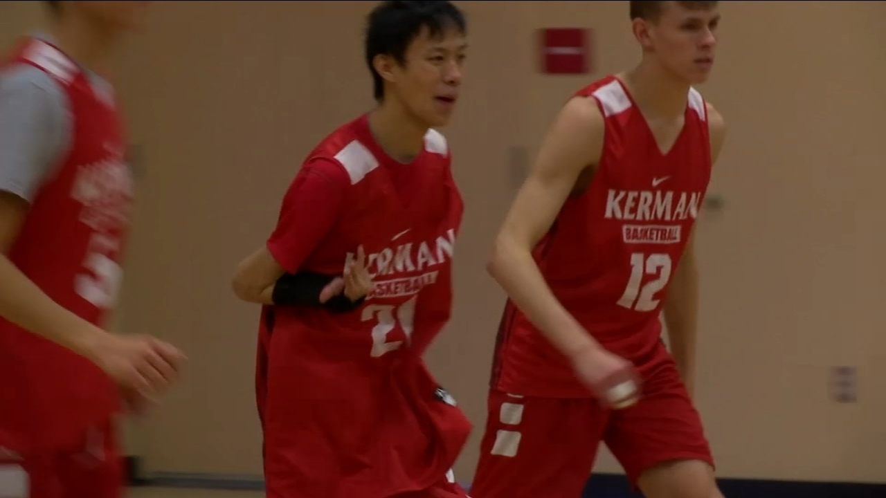 Jeremy Jones was born with cerebral palsy and hemiplegia. But that doesnt stop him from starring on the team.