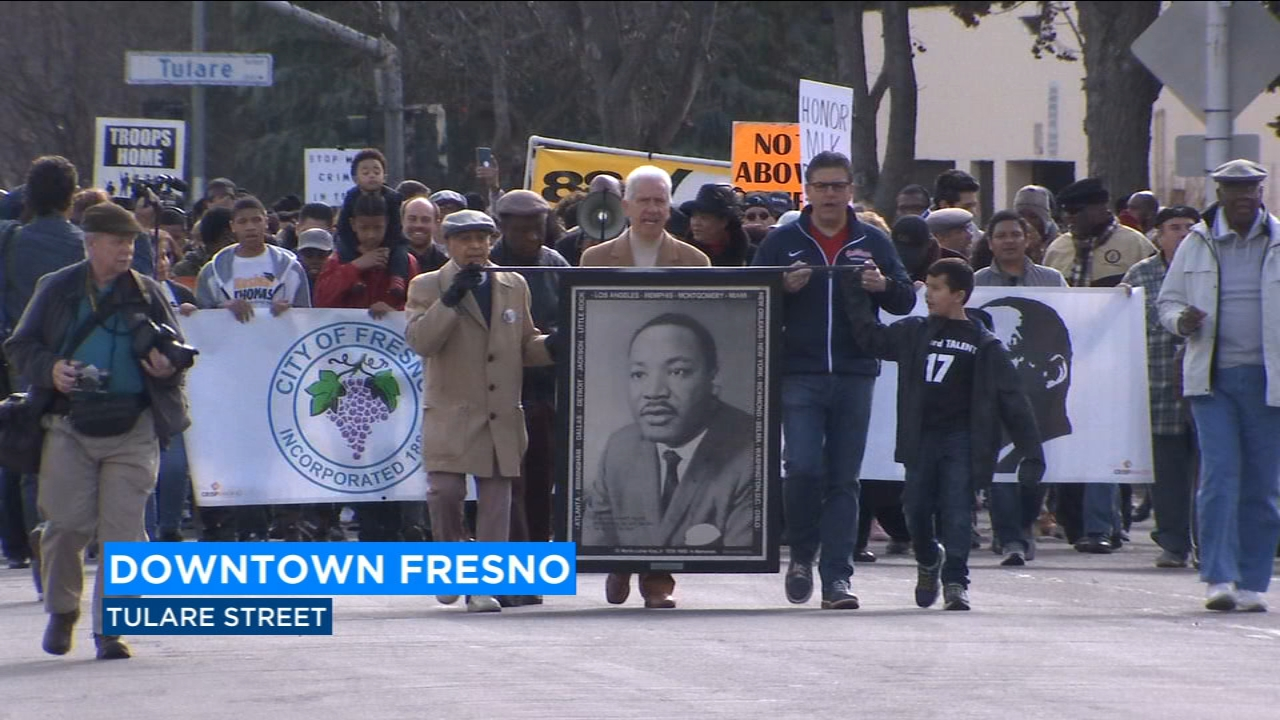 Locals took to the streets on a day MLK would have been 90 and sought to remind people his teachings ring true to this day.
