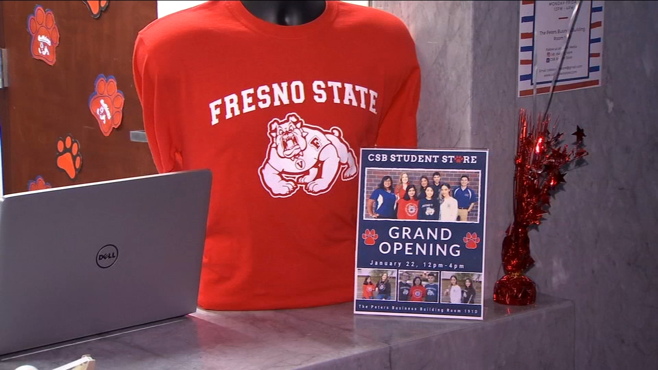 Fresno States business school opens store run by its students