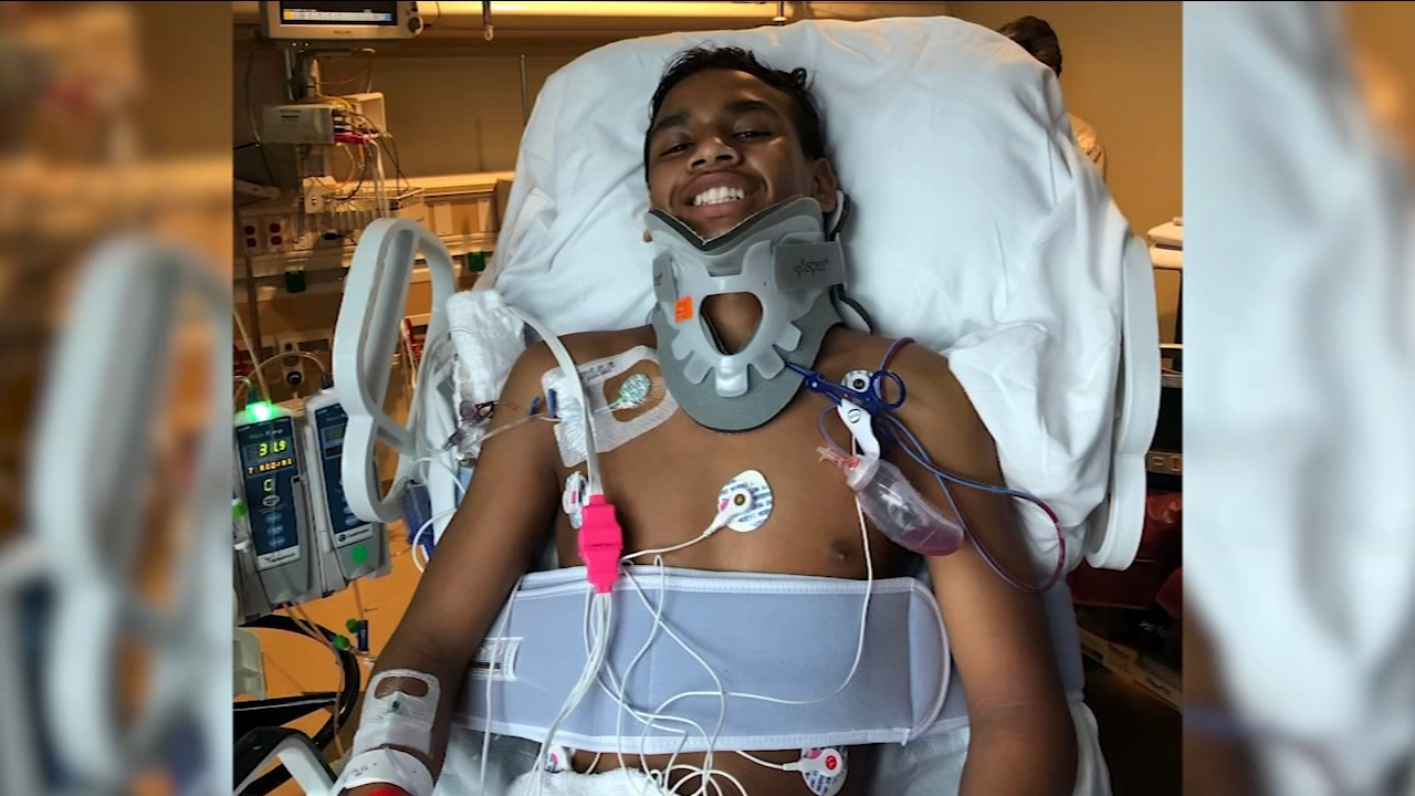 Buchanan HS raises money to help student with severed spinal cord