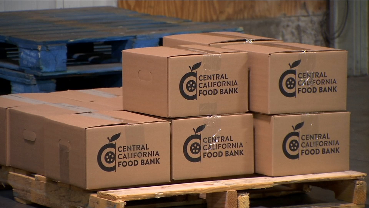 When youve been a month without pay, its hard to turn down free food. And the Central California Food bank took a truckload to help feed correctional officers and their families.