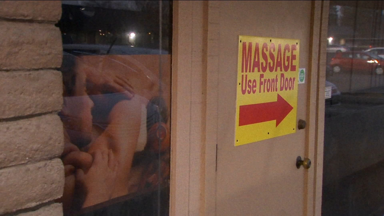 Detectives arrested all the employees at a massage parlor acting as a front for a prostitution spot. Then they wired and rigged it up before re-opening it, posing as massage therap