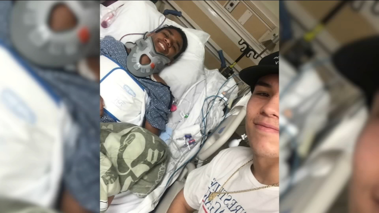Brighter days come after the dark ones: brother stands by paralyzed 13-year-old