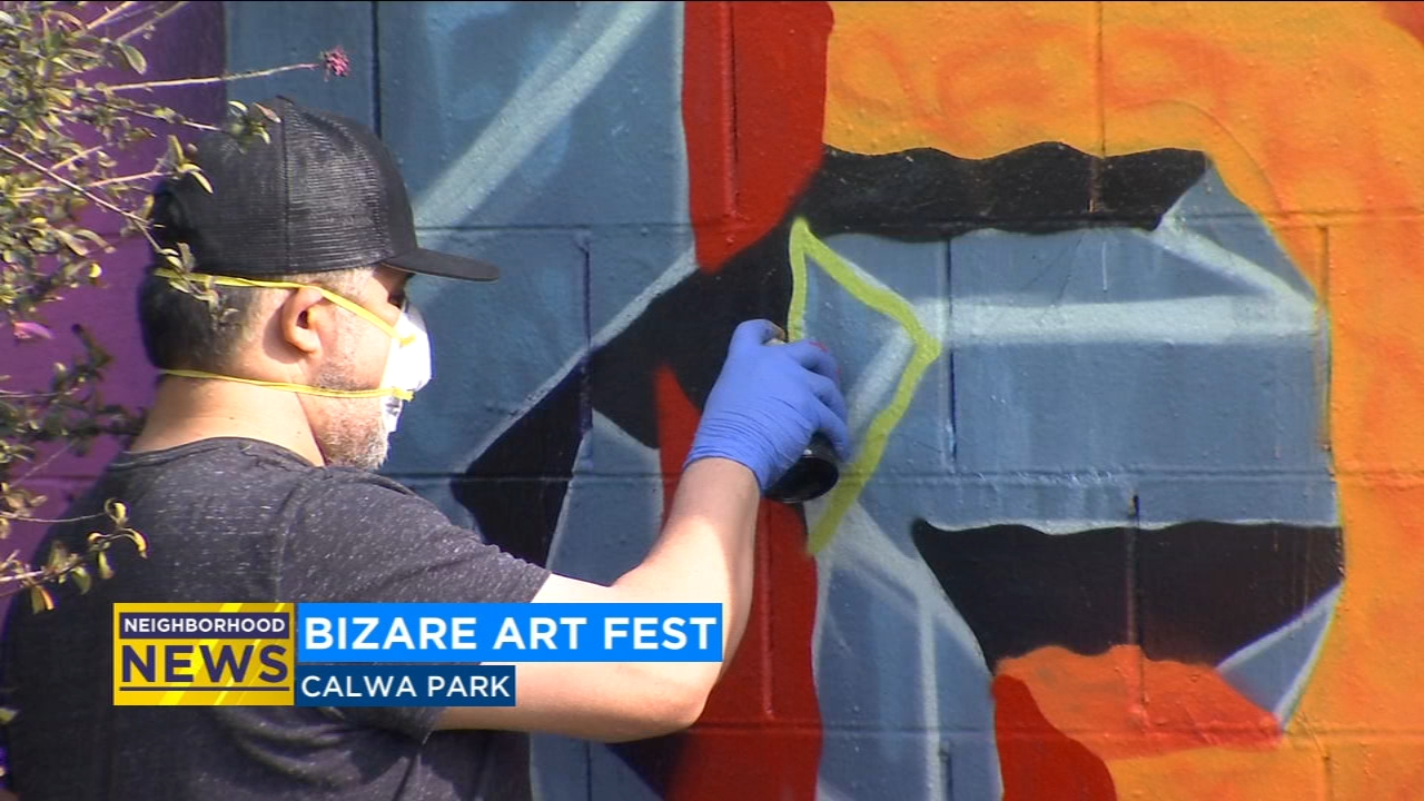 Coming from as far as Texas, artists were given a platform to express themselves and celebrate the life of graffiti icon Lord Bizare.