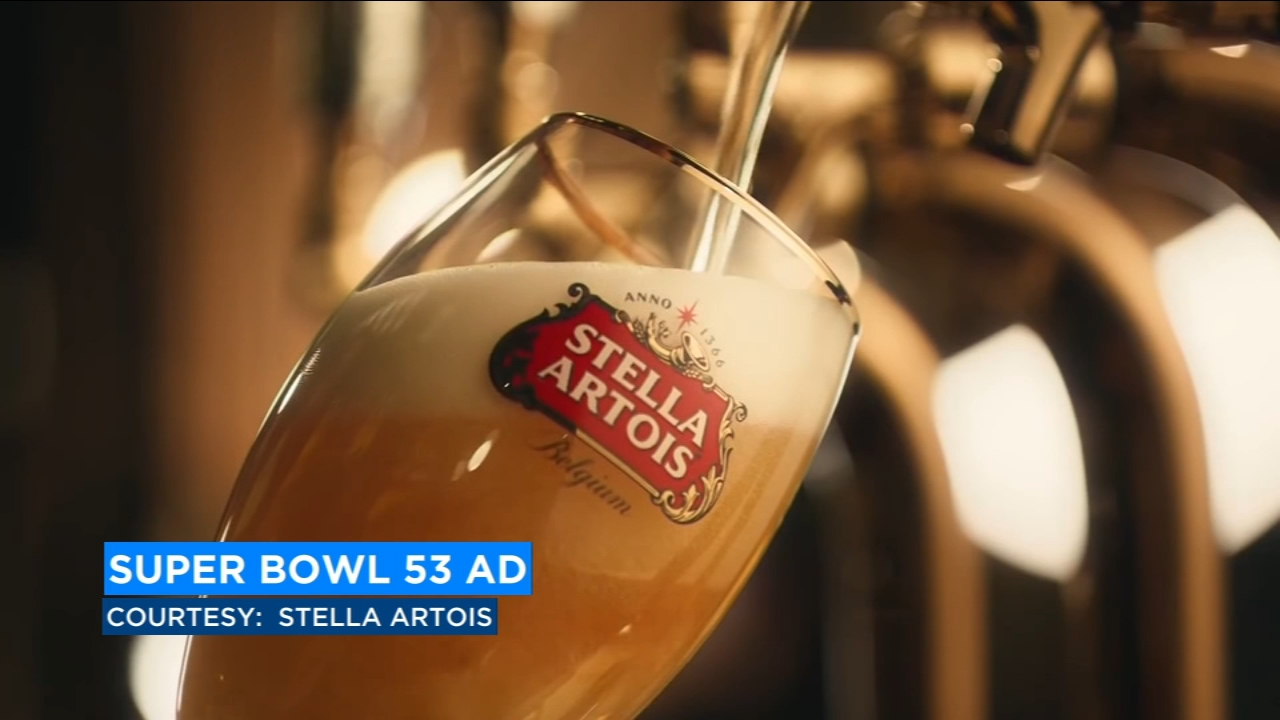 Stella Artois Super Bowl ad invites consumers to change up usual for good cause
