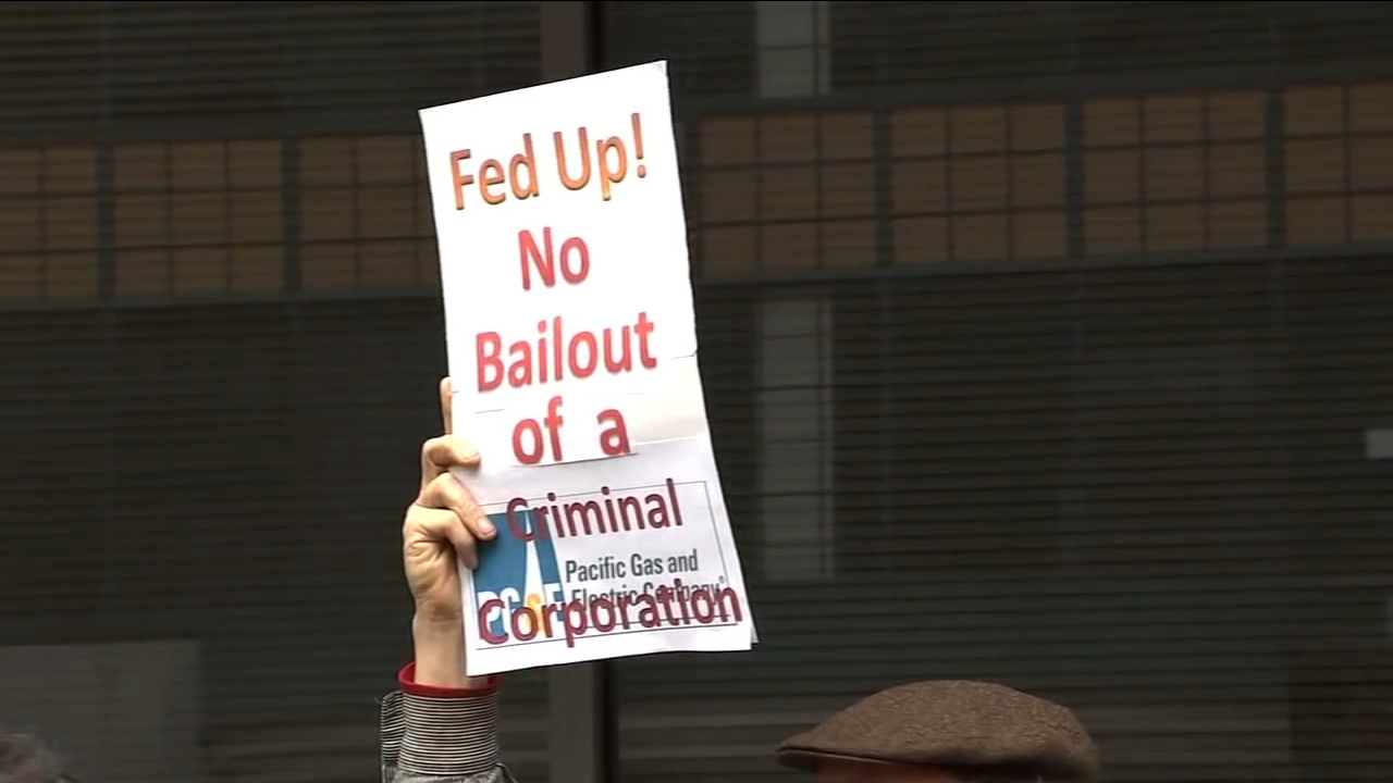 Protests erupt as the California PUC decides the financial fate of PG&E