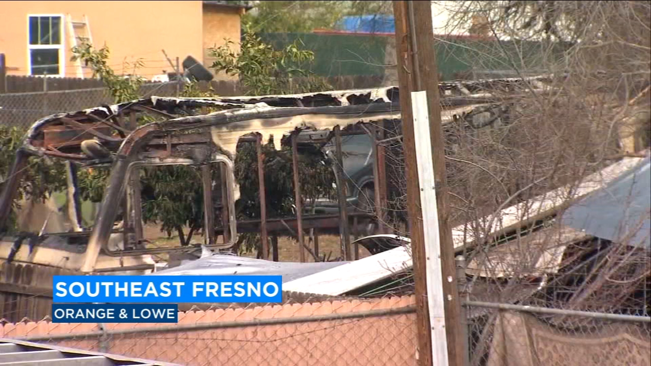 Body found after fire crews put out RV fire in Southeast Fresno