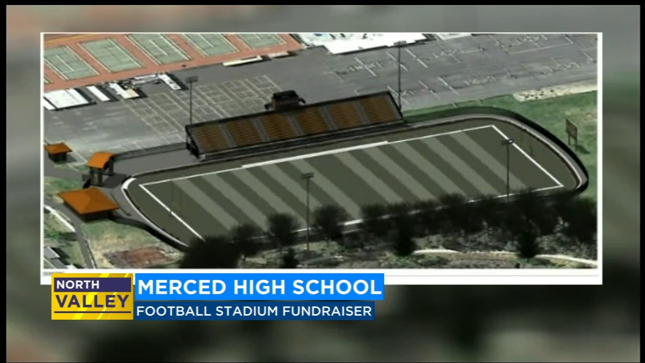 Merced HS coach raises money for new football stadium