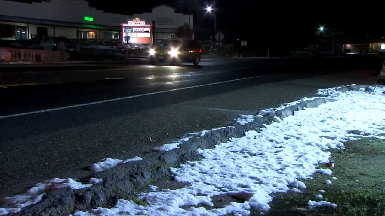 Roads still dangerous from snowfall; some foothill schools call for bus delays