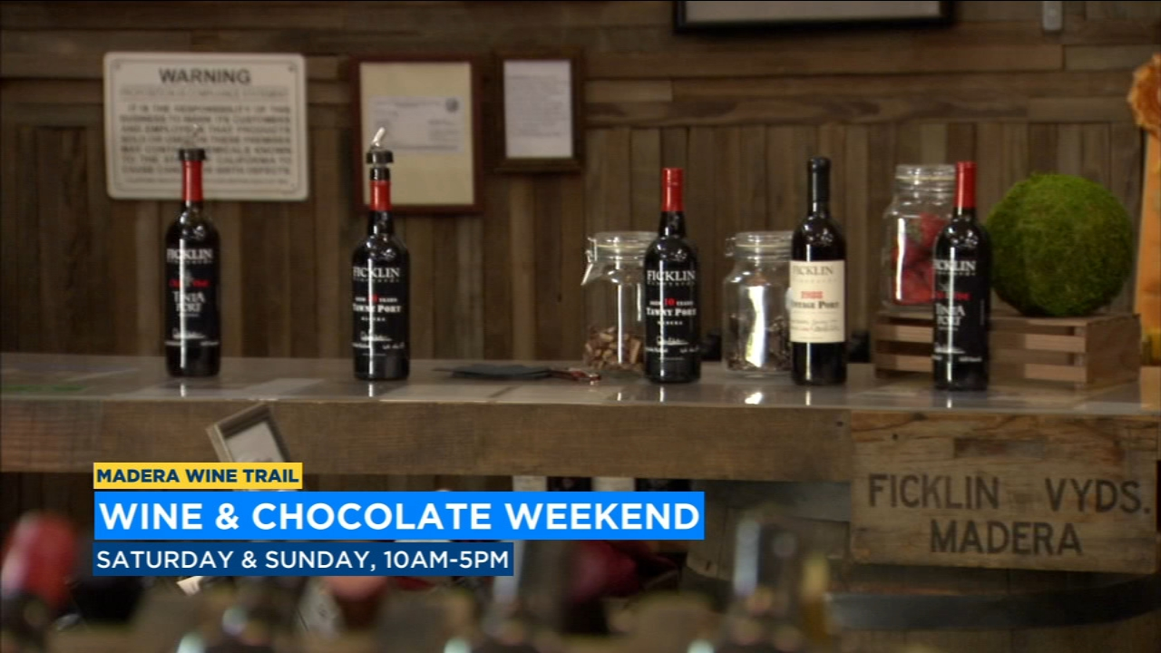 Celebrate Valentines Day early at Madera Wine and Chocolate Weekend