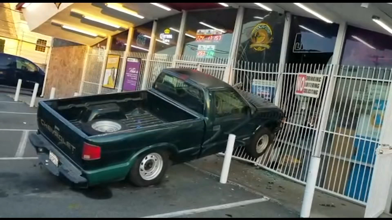 Two would-be robbers tried to pull-off a crash and grab at a mini-mart in Fresnos Tower District.