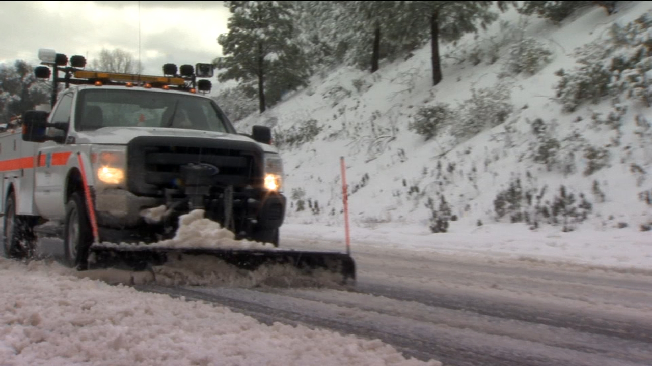 With another winter storm headed for Central California, officials are warning travelers about potential hazards on the way up to mountain communities.