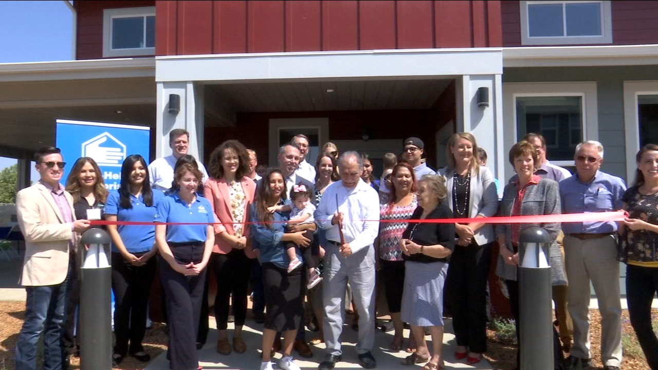 After three long years the first phase of Sierra Village apartments is now a place for families to call home.