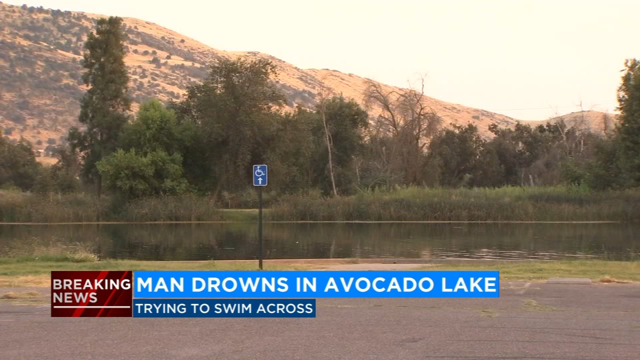 A 38-year-old man drowned Sunday in Avocado Lake.