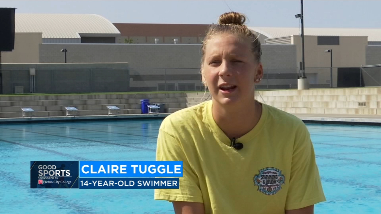 Earlier this month Tuggle won three events at junior nationals. She called it a good meet overall.
