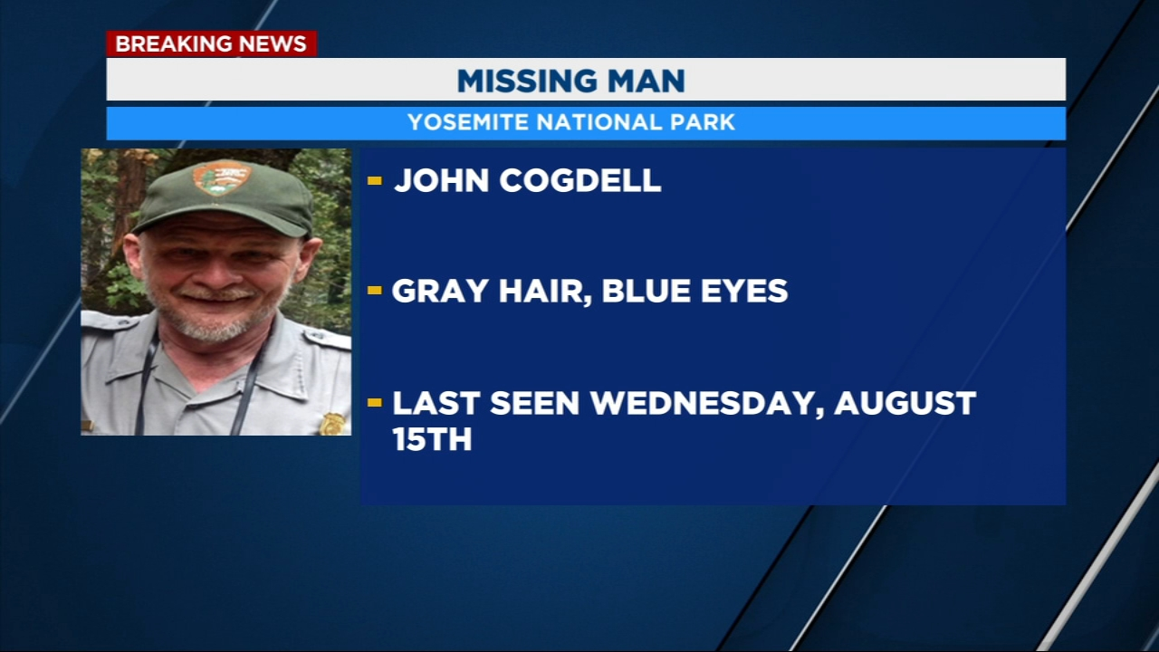 Officials at Yosemite National Park need your help locating John Blevins Cogdell III.
