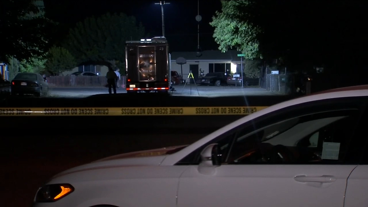 A man is in critical condition after an overnight shooting in Strathmore.