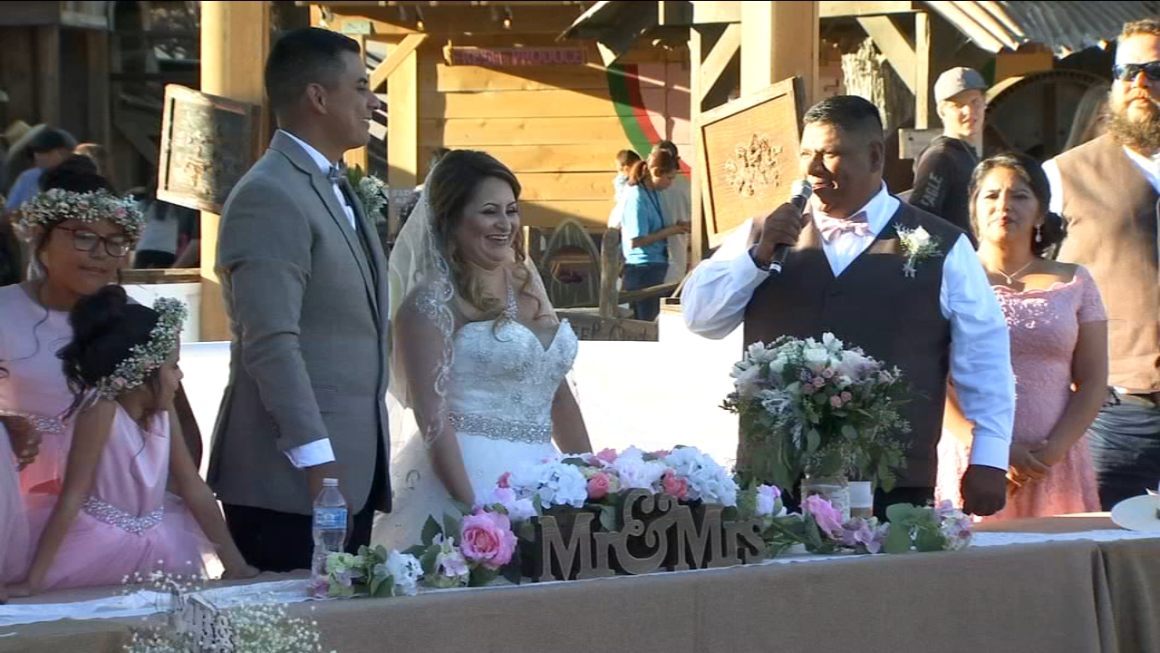 The Madera Fair was extra special today for one Valley couple who met at the fairgrounds seven years ago.