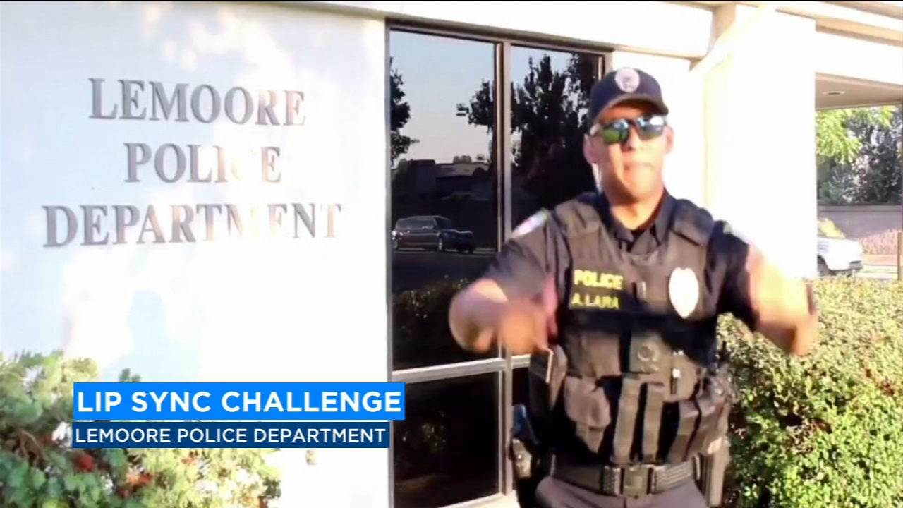The Lemoore Police Department is the latest group of law enforcement to get in on the Lip Sync challenge.
