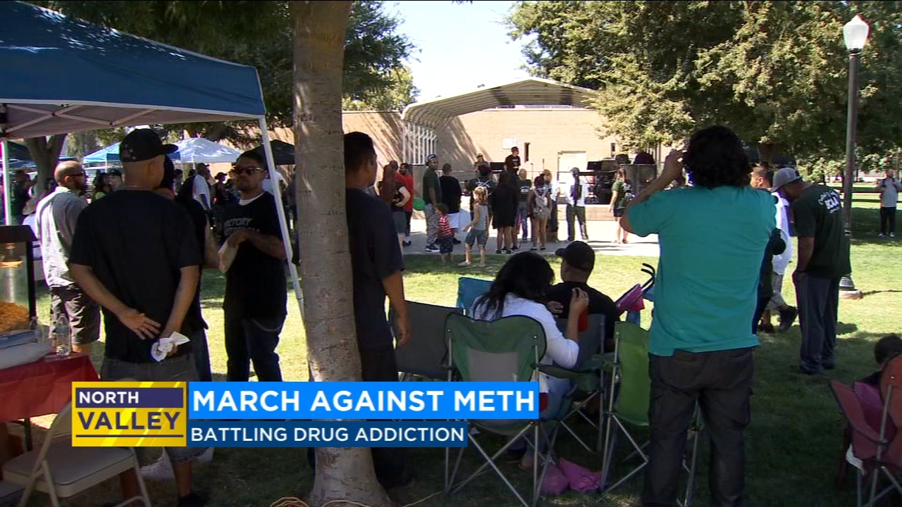 In addition to offering help to people addicted to drugs, the event focused on tacking the gang problem in the city.